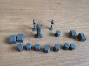 Sci-fi Crates and boxes Dreadball extreeme Gret for Wargaming  warpath    Mantic