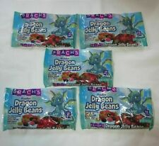 *8 Bags* Brach's DRAGON Miniature Jelly Beans Candy ~ BB 7/10/20 ~ 3+ POUNDS