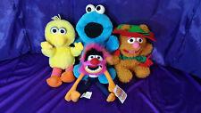 SESAME STREET Muppets Animal Musical Big Bird Fozzy & Talking Vib Cookie Monster