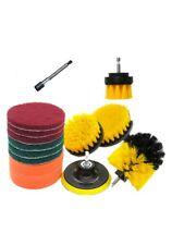 14 Pcs Drill Brush Attachments Set Scrub Pads Sponge Power Scrubber Brush