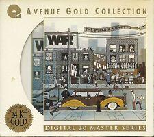 War The World Is A Ghetto 24 Karat Gold CD Avenue mit Pappumh. (with Slipcase)
