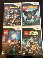 Nintendo Wii Lego 4 Game Lot - see pics for titles - FREE S&H