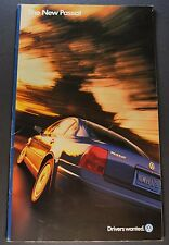 1998 Volkswagen Passat Brochure Excellent Original 98 VW