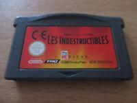 jeu game boy advance les indestructibles