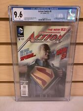 Action Comics #9 CGC 9.6 (DC Comics 2012) 1st Appearance Calvin Ellis Superman