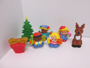 Fisher Price Little People Replacement Winter Christmas Figures Accessories