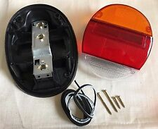 VW BUG Left Right Complete Full Rear Tail Light Assembly Amber Orange BEETLE