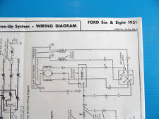 Ford 1959 6 and 8 Cylinder Wiring Diagram