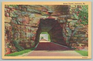 Lexington Kentucky~Boone Tunnel Roadway~Vintage Postcard