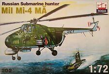Mil Mi-4 MÄ, 1:72 , Toga , Plastikmodellbausatz , *NEU*