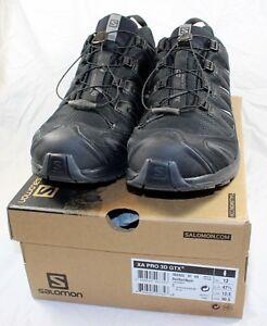 Salomon Men's XA PRO 3D GTX Trail Runner/Running Shoes/Sneakers Black 12.5 US