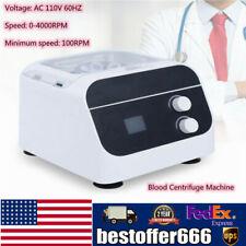 Digital Medical Lab Centrifuge 25ml Prp Plasma Filler Blood Centrifuge Machine