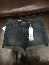 Levis High Rise Wedgie Fit Shorts Size 29