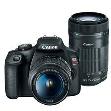 Canon EOS Rebel T7 DSLR Camera + 18-55mm IS II + EF-S 55-250mm IS STM Lens