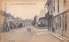 LES LAUMES ALESIA FRANCE~GRANDE RUE POSTCARD 1919
