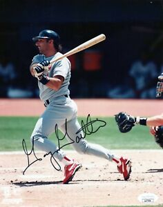 GARY GAETTI SINGLE SIGNED 8X10 PHOTO JSA COA AUTO AUTOGRAPH ST LOUIS CARDINALS