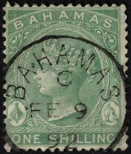 Pre-Decimal Victorian (1840-1901) Bahamian Stamps