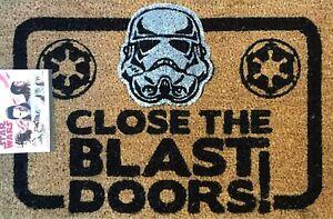 Star Wars STORMTROOPER CLOSE THE BLAST DOORS DOORMAT NEW GIFT IDEA HOME