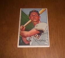 1952 BOWMAN BASEBALL CARD PITTSBURGH PIRATES PETE CASTIGLIONE #47