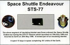 Own a Genuine Piece of Space Shuttle Endeavour - Flown in Space - For Just $7.95
