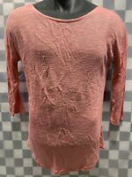 ATTENTION Sheer Pink Top Women's Shirt Size S / C NEW NWT