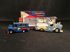 Jeepney ( Philippines ) 2 Pcs. Souvenir Set – Die Cast Metal & Fridge Magnet