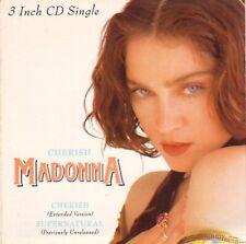 "Cherish Madonna UK 3"" CD single (CD3) W2883CD SIRE 1989"