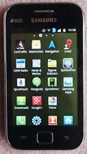 Samsung GALAXY Ace DUOS (2 SIM-Karten) - Schwarz (Ohne Simlock)