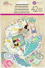 "Prima JULIE NUTTING Ephemera ""Mermaid Kisses"" 42 Pieces 912710 NEW 2018!"