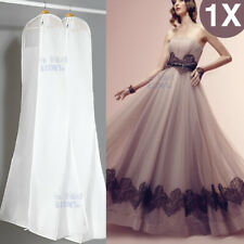 1X White Large Wedding Dress Bridal Gown Garment Breathable Cover Storage Bag