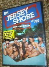 Jersey Shore: Season Two Uncensored (DVD, 2010, 4-Disc Set),NEW & SEALED, REG. 1