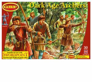 Gripping Beast Dark Age Archers Set Hard Plastic 28mm Scale Miniatures