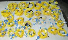 Fiber Optic Cable - MISCELLANEOUS LOT OF YELLOW CABLE
