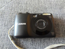 Canon PowerShot A1200 12.1MP Digital Camera - Black