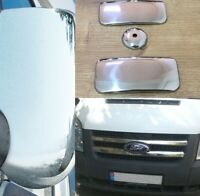 Ford Transit MK6 MK7 00-13ABS Chrome Mirror cover Front Grill Door Handle Cover