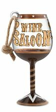 Ornament Epic Products Wine Saloon Mini Wine Glass Rope Hanger Multicolor Boxed