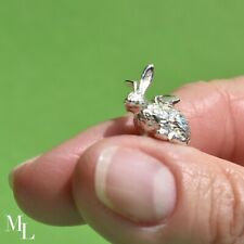 Sterling Silver Rabbit Jewellery Charm