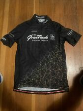Jakroo Cycling Jersey Womens XL RBC Gran Fondo Silicon Valley Black