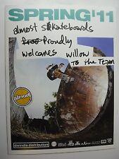 Dwindle BLIND Skateboard Enjoi DARKSTAR quasi catalogo 2011 skate ART. RARA