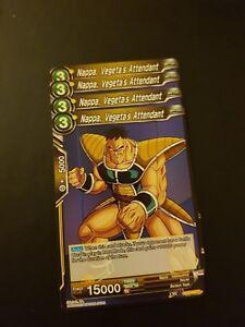 4x Nappa, Vegeta's Attendant Dragon Ball Super Card Game