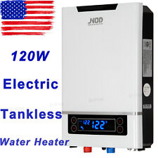 11KW Electric Tankless Hot Water Heater On Demand Instant Shower Bathroom ETL