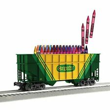 Lionel Crayola 2 Bay Hopper with 64 pack of Crayons, 3-17703
