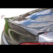 Carbon Fiber Rear Trunk Boot Lip Spoiler For Hyundai Genesis Coupe 2010~2015