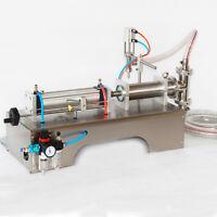 90-1000ml Pneumatic Liquid Filling Machine Water Perfume Shampoo Oil Filler Tool