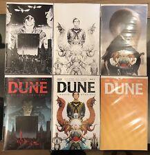 Dune House Atreides #1 Variant Set 6 Covers 1:25, 1:50 BOOM! STUDIOS NM