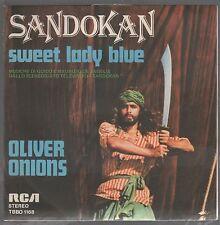 "OLIVER ONIONS SANDOKAN SWEET LADY BLUE OST 7"" 45 GIRI"