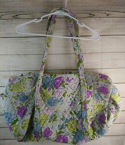 """Vera Bradley Large Duffle Weekender Bag Floral L:22"""" H:11"""" W:10"""""""