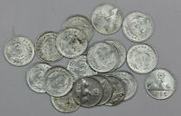 1896 1/4 REAL GUATEMALA SILVER COIN XF-AU   FREE SHIPPING!! 1Pc From Lot Shown