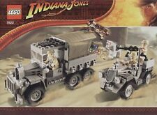 LEGO INDIANA JONES 'RACE FOR THE STOLEN TREASURE' #7622 100% COMPLETE GUARANTEE