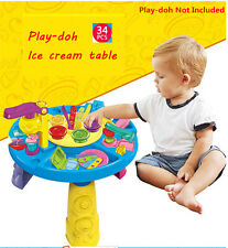 Play-Doh Swirl & Scoop Ice Cream Activity Play Table toys Craft Learning Centre